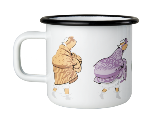 Elsa Beskow enamel mug, 3,7dl, The Walk