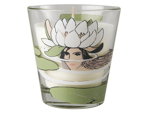 Elsa Beskow candle, 9cm, Waterlily