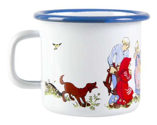 Emil Enamel Mug The Family 2,5dl