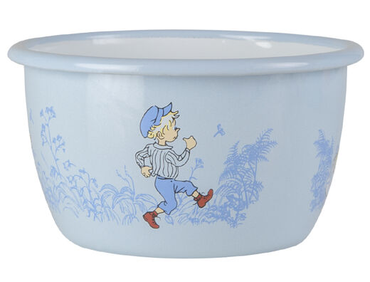 Emil enamel bowl, 3dl