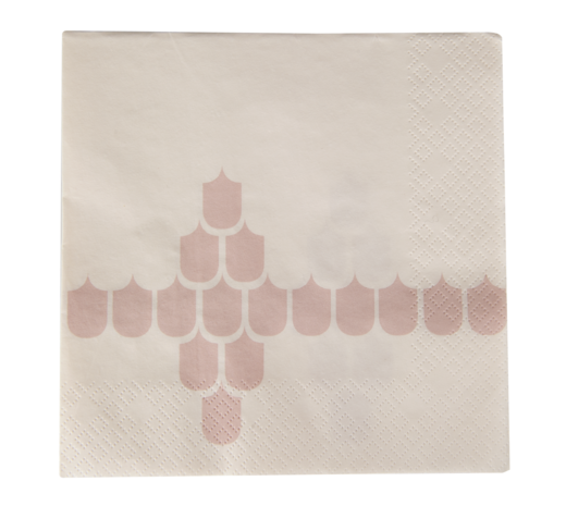 Kitchen series with Vappu napkin, 33x33cm, beige