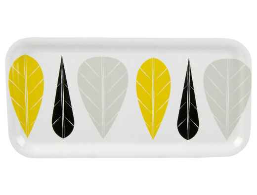 Leaves tray, 27x13cm