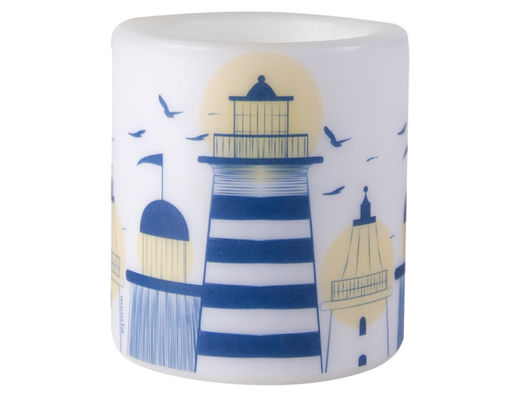 Lighthouse candle, 8cm
