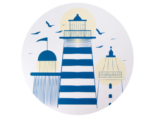Lighthouse trivet, 20cm