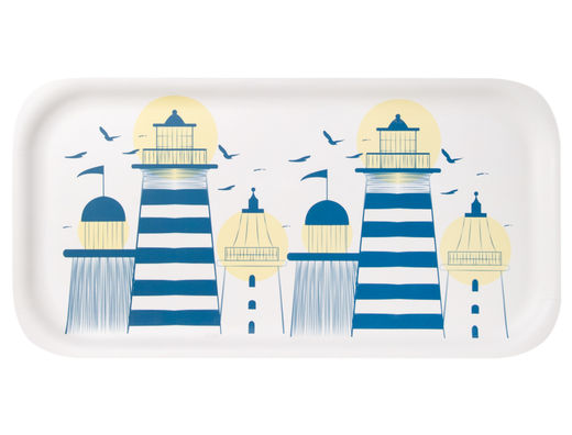 Lighthouse tray, 43x22cm