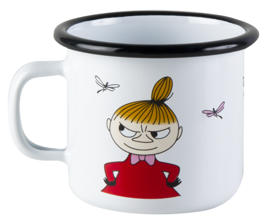 Moomin enamel mug, 2,5 dl, Little My