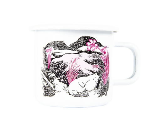 Moomin Originals Enamel Mug Nap at the Meadow 3,7dl