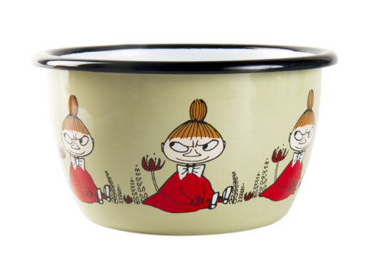 Moomin Friends enamel bowl, 3dl, Little My