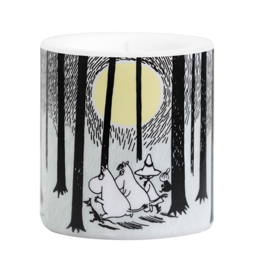 Moomin candle, In the Woods, 8 cm