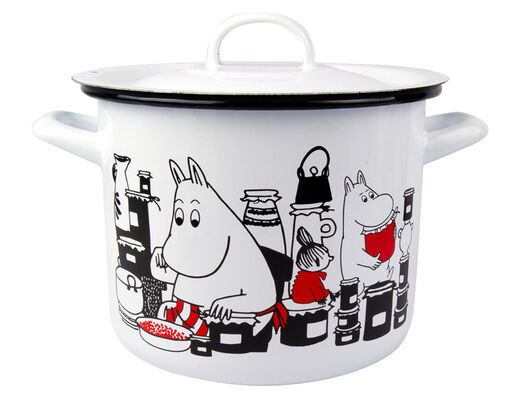 Moomin Casserole with lid, 3,5l, Jam