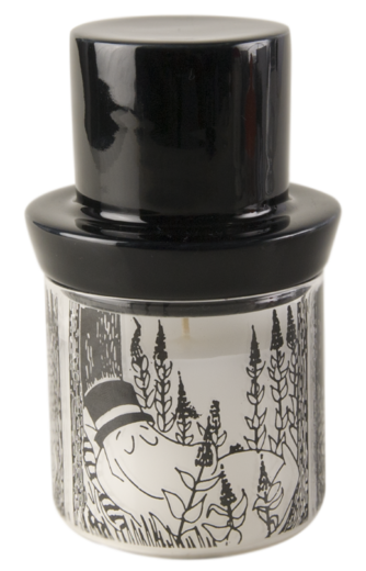 Moomin candle with estinguisher, 13,5cm, Moominpappa