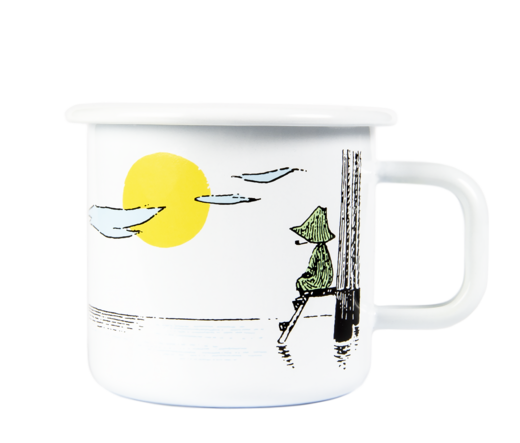 Moomin Originals Enamel Mug, 3,7 dl, Daydreaming