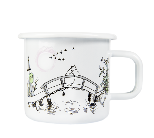 Moomin Originals Enamel mug, 3,7dl, Missing you