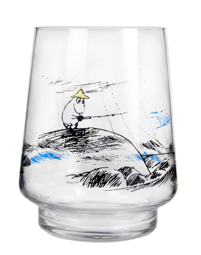 Moomin Originals Lantern/Vase, 20 cm, Gone fishing