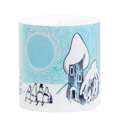 Moomin Candle Snowy Valley 8cm