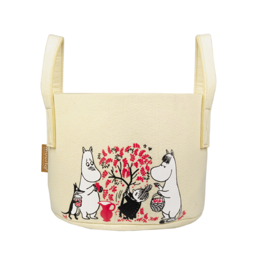 Moomin Storage Basket, Berries, 17 L