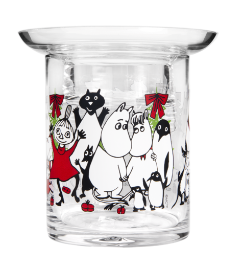 Moomin Candle Holder Winter Magic 10cm