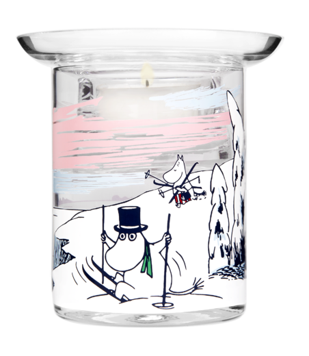 Moomin Candle Holder Winter 10cm
