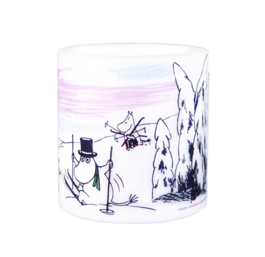Moomin Candle, Winter, 8 cm