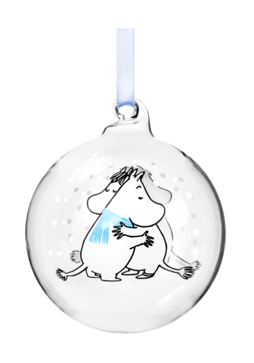 Moomin Decoration Ball, 7 cm, Cuddle