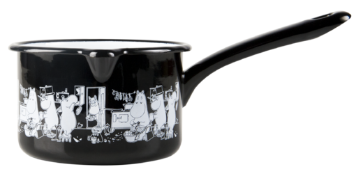 Moomins in the Kitchen -enamel saucepan, 0,8 L