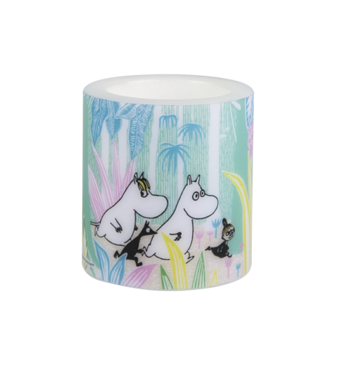 Moomins in the Jungle Candle 8cm