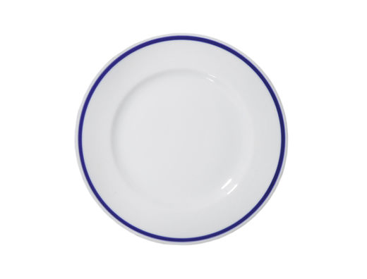The Cottage of Four Winds porcelain plate, 21cm
