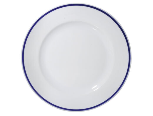 The Cottage of Four Winds porcelain plate, 27cm