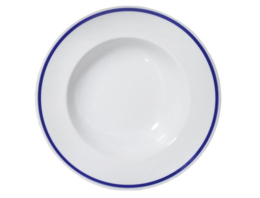 The Cottage of Four Winds porcelain soup plate, 30cm
