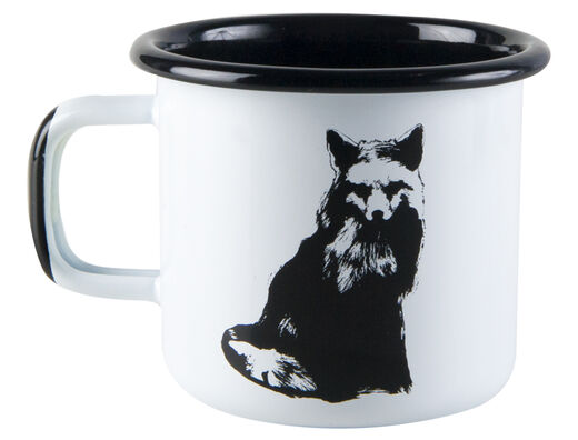 Nordic enamel mug, 3,7dl, The Fox