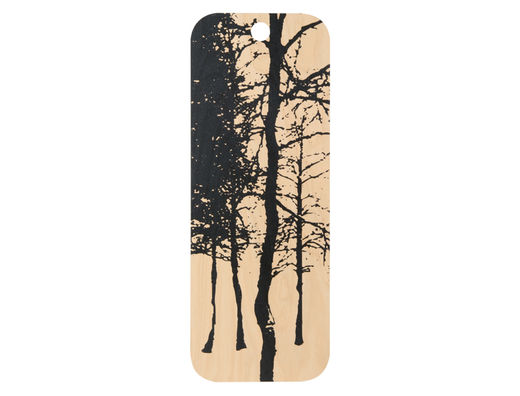 Nordic cutting/serving board, 15x40cm, The Forest