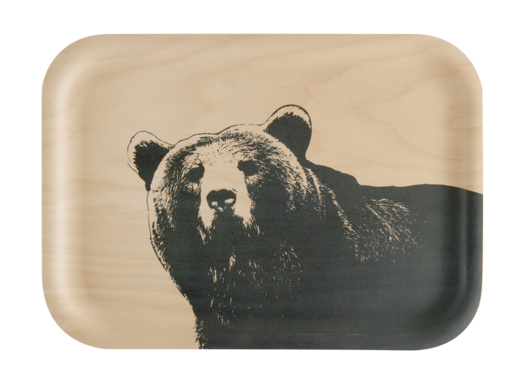 Nordic tray, 27x20cm, The Bear