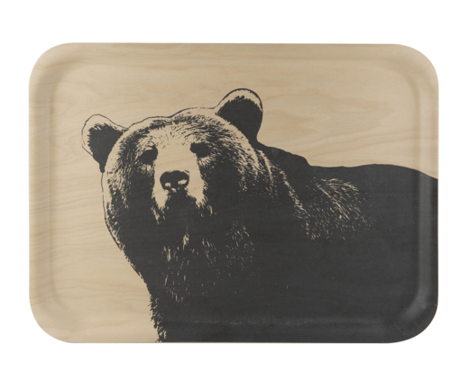 Nordic tray, 42x32cm, The Bear