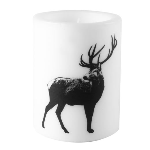 Nordic candle, 12cm, The Deer