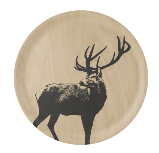 Nordic tray, 35cm, The Deer