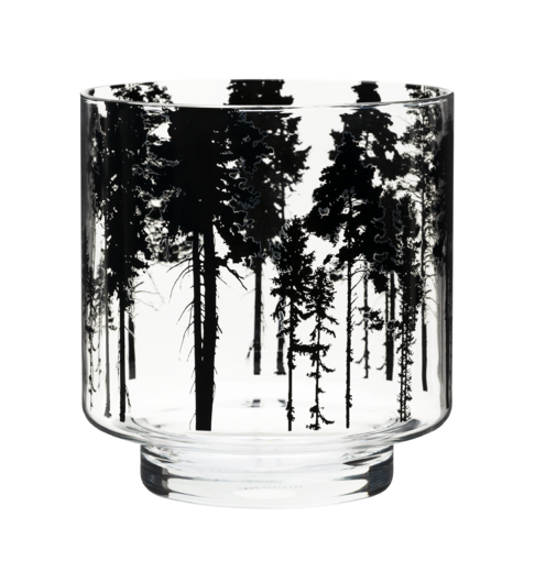 Nordic Candle holder/vase, 17 cm, The Forest