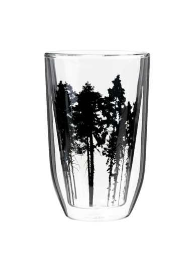 Nordic Glass for hot drinks, 3 dl, The Forest