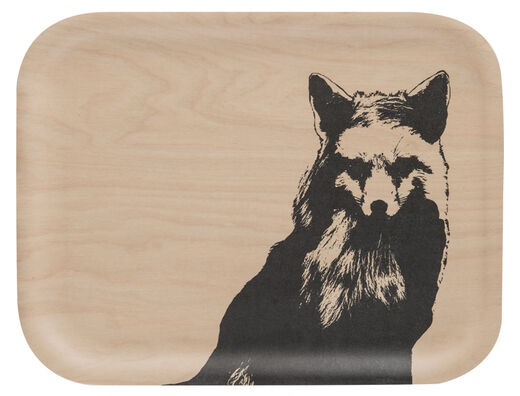 Nordic tray, 27x20cm, The Fox