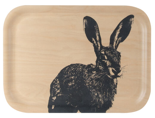 Nordic tray, 27x20cm, The Hare