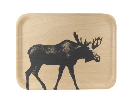 Nordic Won't Slip Tray, The Moose