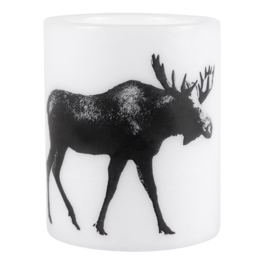 Nordic candle, 12 cm, The Moose