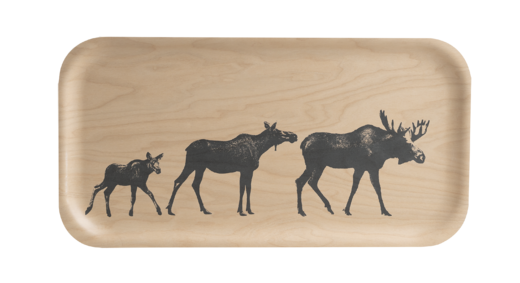 Nordic Tray, 43x22 cm, The Moose Family