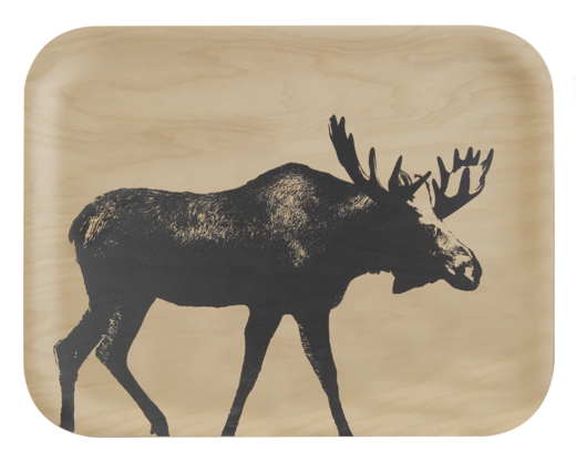 Nordic Tray The Moose 27x20cm