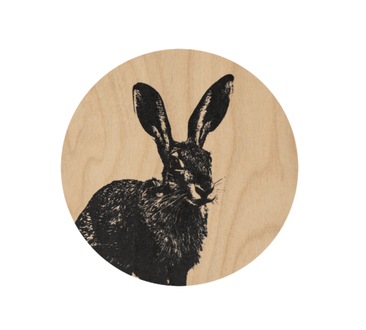 Nordic Coaster, diam. 10 cm, The Hare