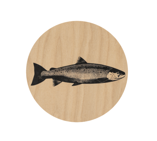 Nordic Coaster The Salmon 10cm