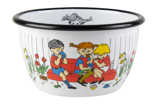 Pippi enamel bowl, 6dl, Cup of coffee