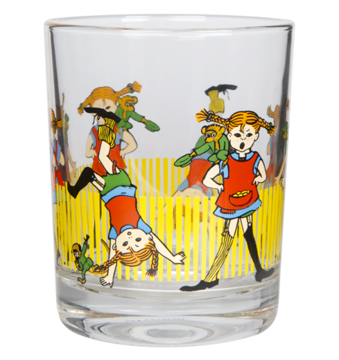 PIPPI LONGSTOCKING Drinking glass 2dl