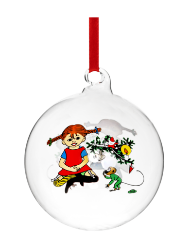 Pippi Decoration Ball Pippi Longstocking 9cm