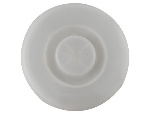 Silicone lid, transparent