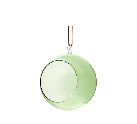 Decoration Ball green 12cm